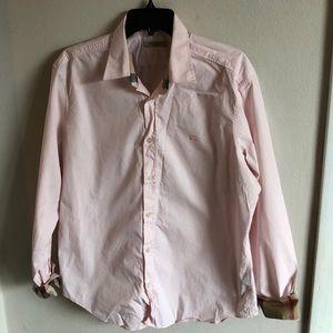 Burberry mens dress shirt